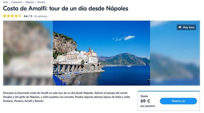 Mejores excursiones y tours desde Nápoles